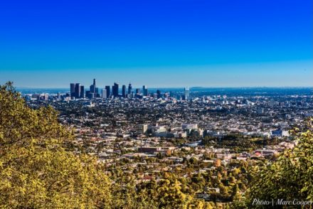 Los Angeles in autumn