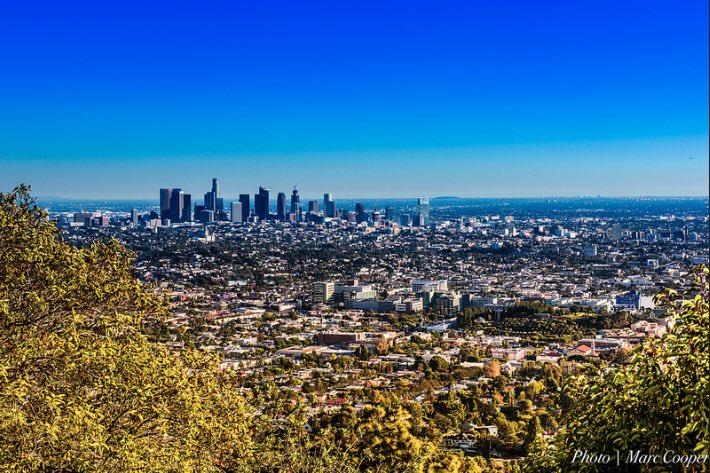 Los Angeles in autumn
