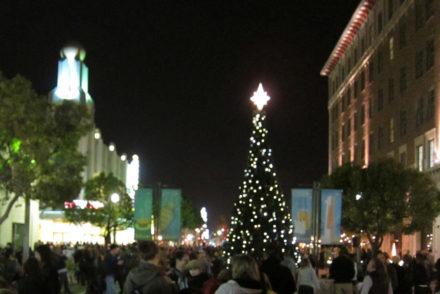 Downtown Culver City Tree Lighting Ceremony
