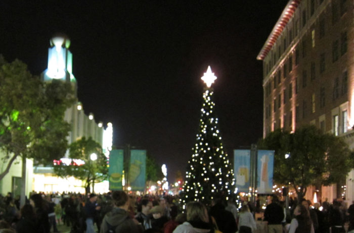 Downtown Culver City Tree Lighting Ceremony