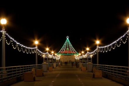 Manhattan Beach Pier Lights