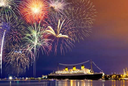 New Year's Eve 2017 Aboard the Queen Mary