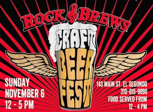 sunday fifth annual craft beer festival rock brews