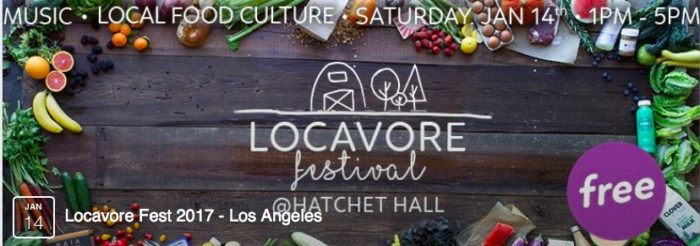 Locavore Festival at Hatchet Hall