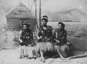 Ukulele Girls During Kalakaua's Reign