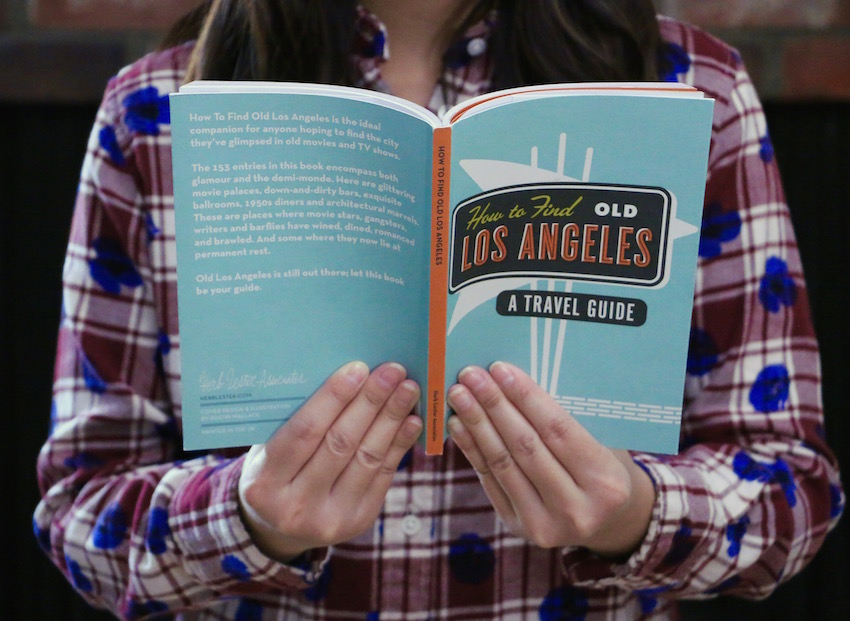 how to find old los angeles travel guide book