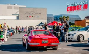 Breakfast Club Cruise-In at the Petersen Automotive Museum