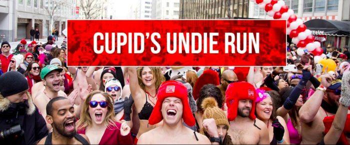 Cupid's Undie Run at the Victorian, Santa Monica