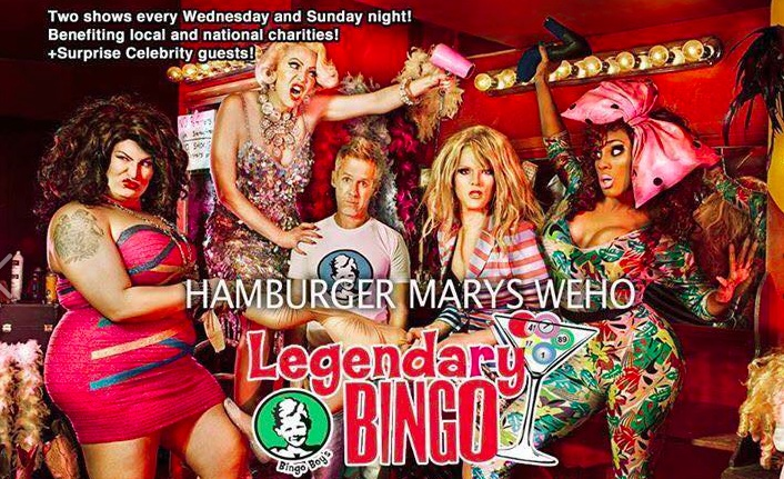 Drag Queen Bingo at Hamburger Mary's
