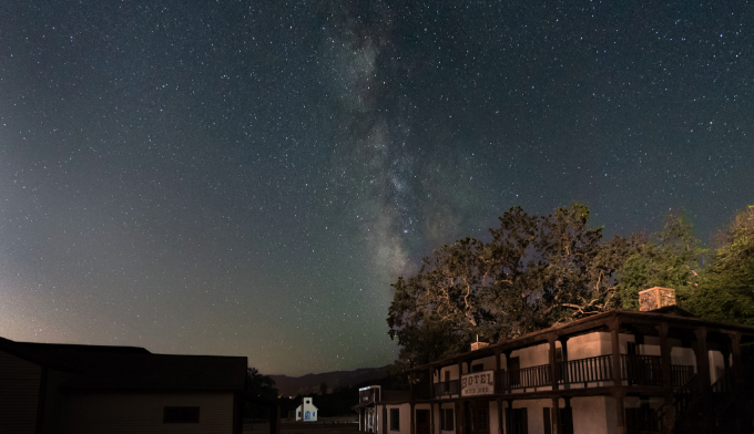 Paramount Ranch at Night