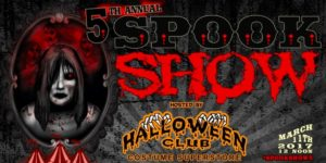 5th Annual Spook Show: Halloween Festival