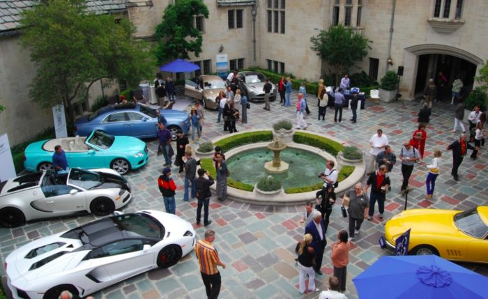 Th Annual Greystone Mansion Concours DElegance Car Show - Beverly hills car show