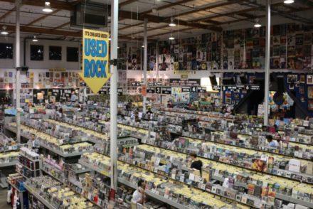 Amoeba Hollywood Record Shop