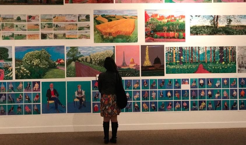 Hockney Taschen Gallery