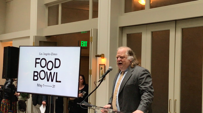 Jonathan Gold Food Bowl annoucnement