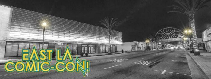 East L.A. Comic-Con at El Gallo Plaza