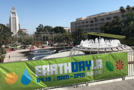 Earth Day LA 2017 in Grand Park