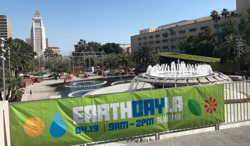 Earth Day LA 2017 in Grand Park