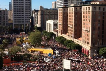 Pershing Square Women's March