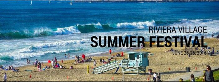 0th Annual Riviera Village Summer Festival