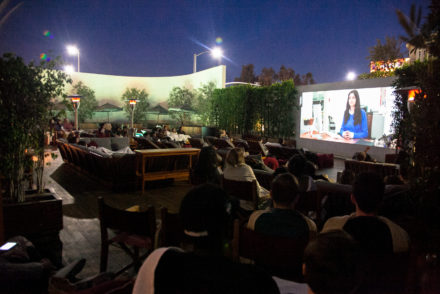 Poolside Cinema at Mr. C Beverly Hills