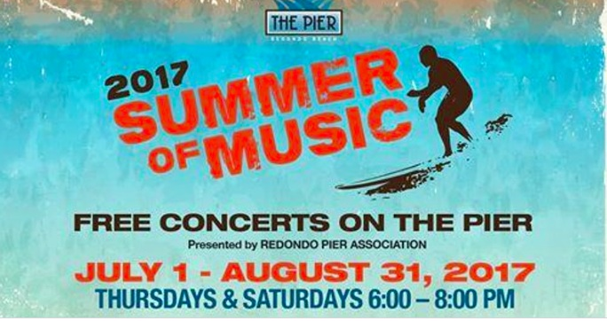 Redondo Pier Presents the 2017 Summer of Music