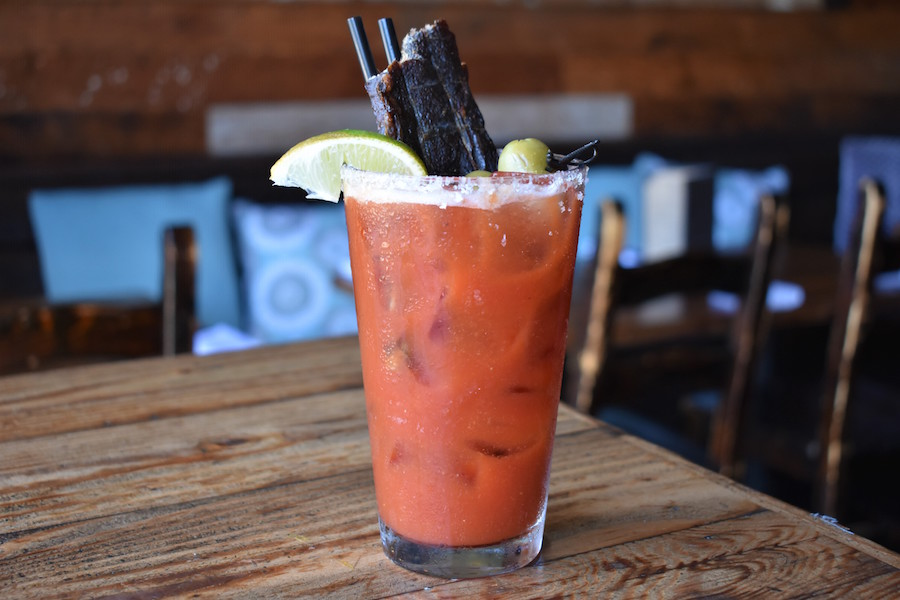 the standing room bloody bull