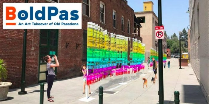BoldPas: An Art Takeover of Old Pasadena