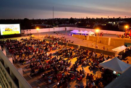 Rooftop Cinema Pasadena South Lake 2017