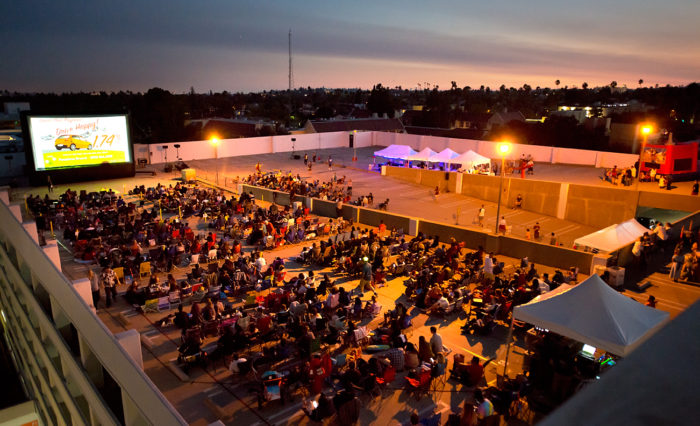 Rooftop Cinema Pasadena South Lake 2017
