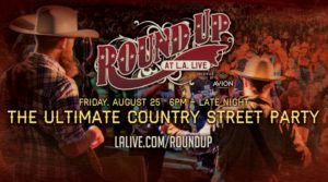 Round Up at L.A. LIVE