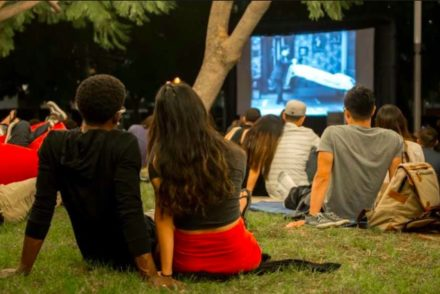 Unsilent Cinema at Fig at 7th