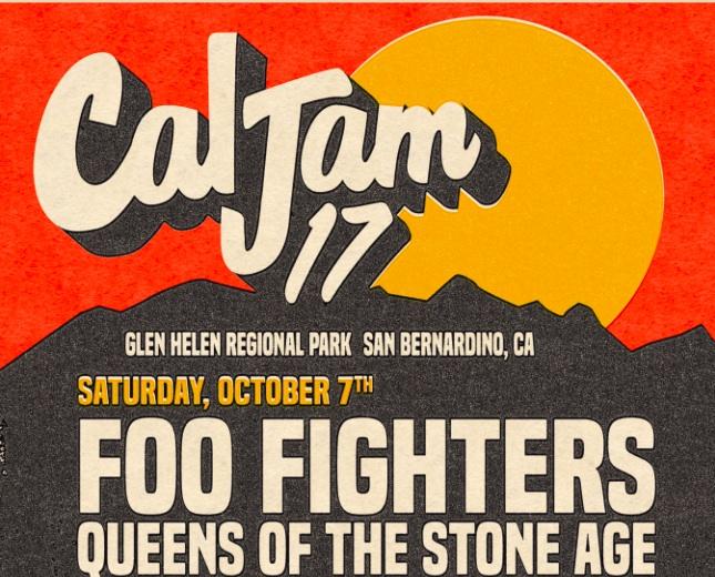 Cal Jam 17 at Glen Helen
