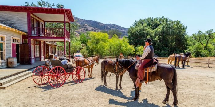 Classic Car Show & Drive-In Movie at Paramount Ranch
