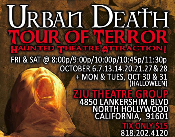 Urban Death: Tour of Terror