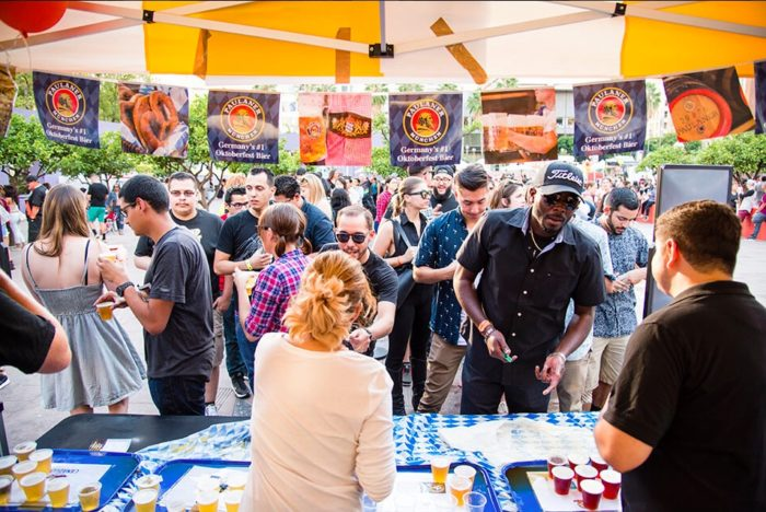 Oktoberfest at Pershing Square in Downtown LA