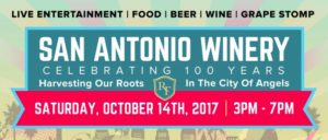 San Antonio Winery 100th Anniversary Celebration