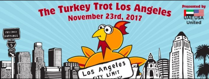 The Annual Turkey Trot Los Angeles On Thanksgiving Day