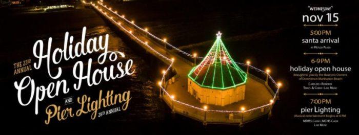 The 28th Annual Pier Lighting at Manhattan Beach Pier