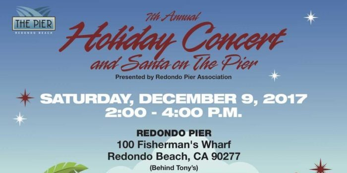 7TH ANNUAL HOLIDAY CONCERT & SANTA ON THE PIER
