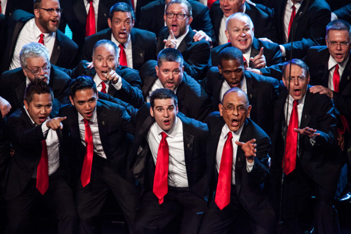 Gay Men's Chorus at 58th Annual L.A. County Holiday Celebration