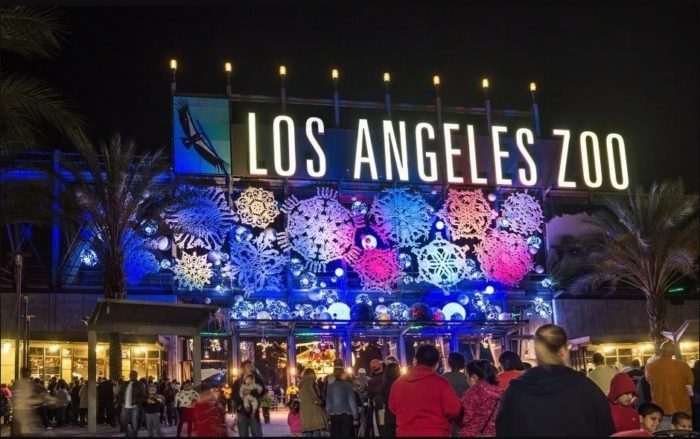 LA Zoo Lights 2017