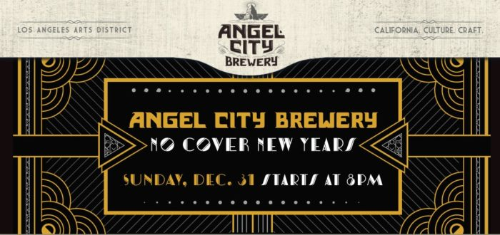 Angel City Brewery Presents No Cover New Year's Eve 2018