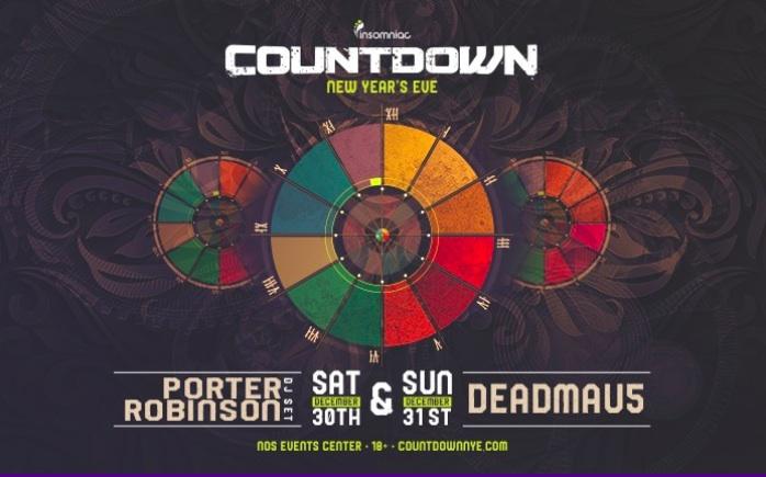 Insomniac's Countdown NYE 2018