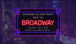 Night On Broadway 2018
