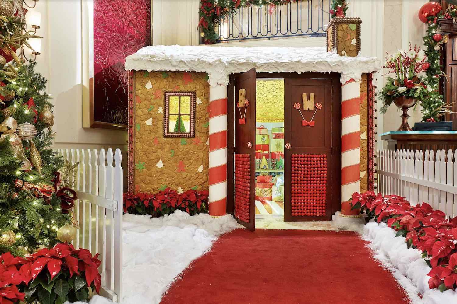 Beverly Wilshire Gingerbread House