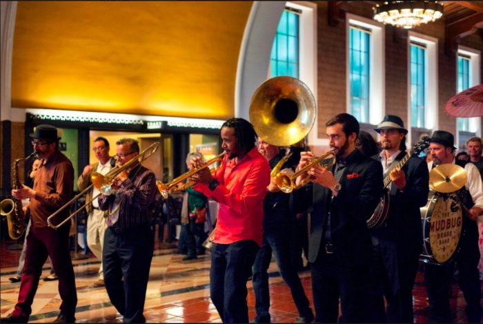Mardi Gras Concert with The Mudbug Brass Band at Union Station
