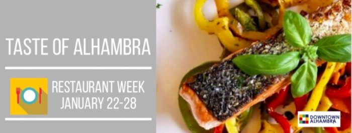 Taste of Alhambra Restaurant Week