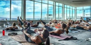 Yoga with a View at the Andaz