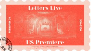 Letters Live at The Theatre at Ace Hotel Los Angeles